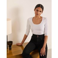 Double Layer Front Top White Women Boden, White