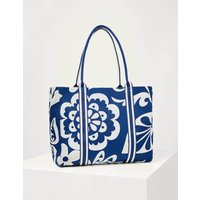 Olivia Large Canvas Tote Summit Garden Tropic Women Boden, Summit Garden Tropic