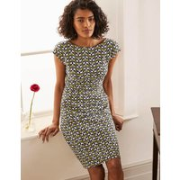 Florrie Jersey Dress Chartreuse, Floral Fan Boden, Chartreuse, Floral Fan