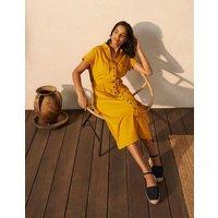 Thomasina Jersey Shirt Dress Tuscan Sun Women Boden, Tuscan Sun