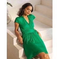 Evangeline Jersey Wrap Dress Sapling Women Boden, Sapling
