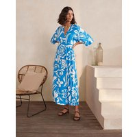 Poppy Jersey Maxi Dress Blue Women Boden, Blue