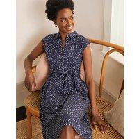 Althea Jersey Shirt Dress Navy, Triple Spot Women Boden, Navy, Triple Spot