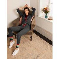 Morton Knitted Joggers Charcoal Melange Boden, Charcoal Melange