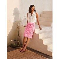 Gabriella Pencil Skirt Lollipop, Ornate Lattice Women Boden, Lollipop, Ornate Lattice
