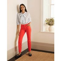 Slim Straight Ankle Skimmers Cherry Red Women Boden, Cherry Red