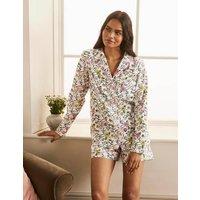 Janie Pyjama Shirt Ivory, Beautiful Garden Women Boden, Ivory, Beautiful Garden