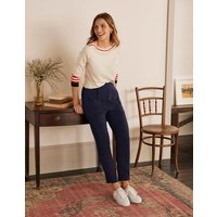 Albemarle Pull On Trousers Navy Women Boden, Navy.