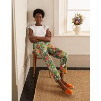 Danby Pull On Trousers Palm Leaf, Paradise Jungle Women Boden, Palm Leaf, Paradise Jungle