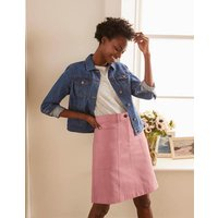 Abingdon Mini Skirt Soft Peony Women Boden, Soft Peony