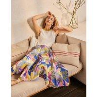 Corinne Full Skirt Plum Blossom, Tropical Flora Women Boden, Plum Blossom, Tropical Flora