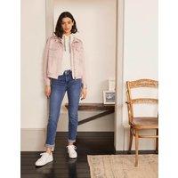 Hardwicke Jacket Pink Women Boden, Pink