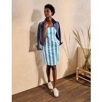 Yolande Shift Dress Moroccan Blue Stripe Women Boden, Moroccan Blue Stripe