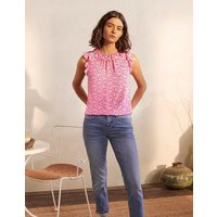 Helen Top Party Pink, Exotic Palm Women Boden, Party Pink, Exotic Palm