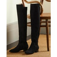 Over-the-knee Stretch Boots Black Women Boden, Black