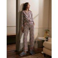Janie Pyjama Shirt Milkshake, Enchanting Forest Boden, Milkshake, Enchanting Forest
