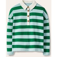 Phillipa Rugby Top Surf/ Forest Boden, Surf/ Forest