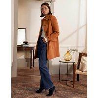 Durham Wool Blend Coat Ochre Boden, Ochre
