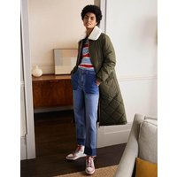 Reversible Quilted Puffer Coat Khaki Women Boden, Khaki