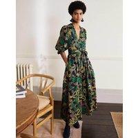 Amelia Maxi Dress Navy, Exotic Floral Women Boden, Navy, Exotic Floral