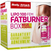 Body Attack Fatburner Box - FEM