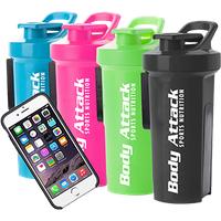 Body Attack Sports Nutrition GA Shaker+ - mit Handyhülle