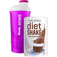 Body Attack Diet Shake - 430g + Shaker