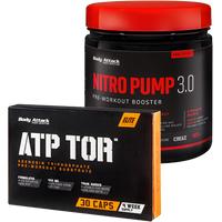NOX ATTACK Pack: Nitro Pump 3.0 - 400g + ATP TOR