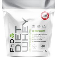 Image of PhD Nutrition | Diet Whey / 1kg - Cherry Bakewell | Vitamins and Minerals