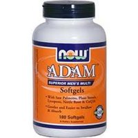 NOW Foods ADAM Superior Mens Multiple Vitamin - 180 Softgels