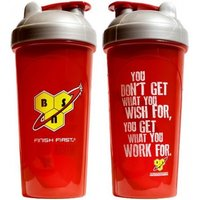 BSN Shaker - red with silver cap