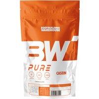Bodybuilding Warehouse   Pure Casein Protein Powder  Strawberry 500g   Relaxation
