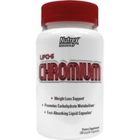 Nutrex Lipo6 Chromium 100 Softgels