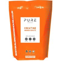 Bodybuilding Warehouse   Pure Creatine Monohydrate Powder  Strawberry Lime 1kg