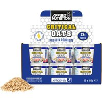 Applied Nutrition Critical Oats Protein Porridge - 60g x 12 Tubs