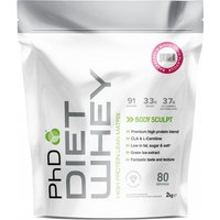 Image of PhD Nutrition | Diet Whey / 2kg -Banana | Vitamins and Minerals