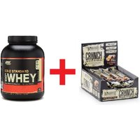 Gold Standard Whey & Warrior CRUNCH - Save 50%!