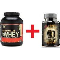 Gold Standard Whey & Warrior Multi-Vitamin - Save 50%!