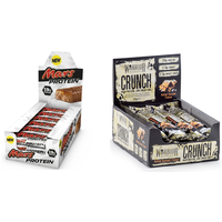Mars Protein Bar & Warrior CRUNCH Bar Bundle - Great Value!