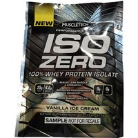 Muscletech Iso Zero Whey Protein Sample - Milk Chocolate