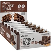 Optimum Nutrition   ON 100  whey crisp protein bar 10 x 65g Chocolate   Vitamins and Minerals