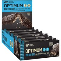 Optimum Nutrition   ON Protein Bar 10 x 60g  Box  Cookies and Cream   Vitamins and Minerals
