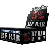 Rich Piana 5% Nutrition Real Food Bars 10 x 75g