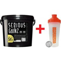 Image of Serious Gainz Protein - 5kg - Mass Bundle