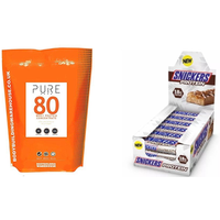 Snickers Protein Bars & Whey Protein 1kg Stack