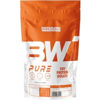 Bodybuilding Warehouse   Pure Soy Protein Isolate  Unflavoured 500g   Vitamins and Minerals