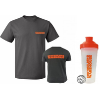 Gym T-Shirt and Shaker Bundle!
