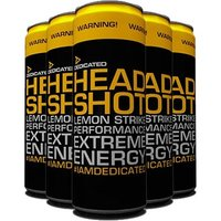 Dedicated Headshot Drink - 12 x 355ml Cans (Short Dated April 2018)