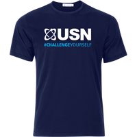 Image of USN Challenge Yourself T-Shirt - Navy Blue