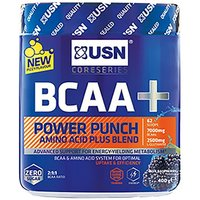 Image of USN BCAA+ Power Punch - 400g-Blue Raspberry | Vitamins and Minerals